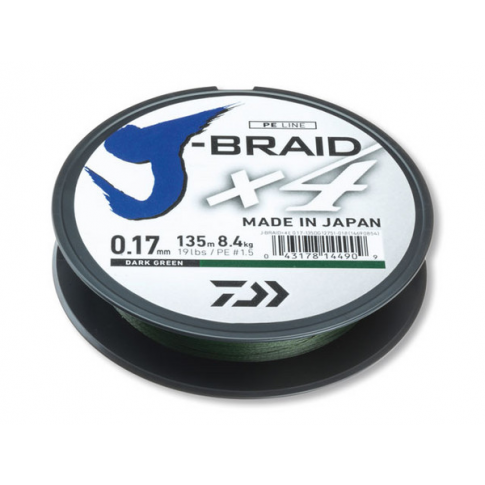 Daiwa J-Braid X4 135m