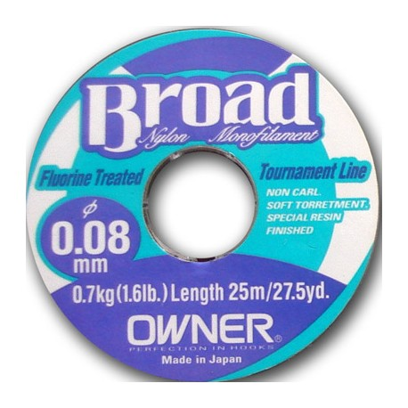 Owner broad 25m