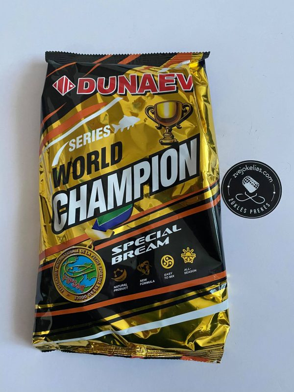 Jaukas Dunaev World Chempion Bream...