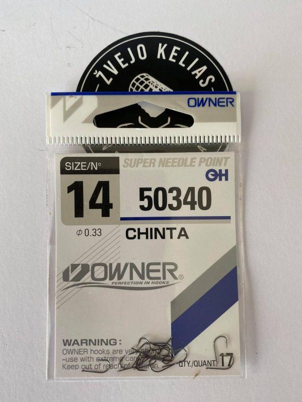 Kabliukas Owner CHINTA mod. 50340
