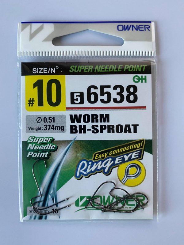 """Kabliukai """"Owner"""" WormBH-sproat 6538"""