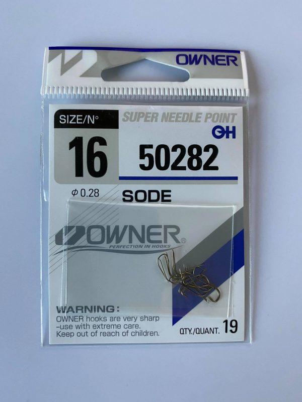 """Kabliukai """"Owner""""  SODE 50282"""